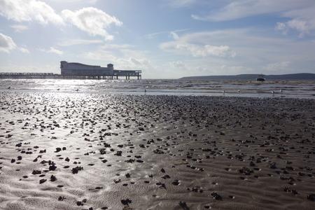 weston super mare: Weston-super-Mare Beach