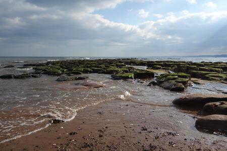 shafts: Tide covering Rock Pools
