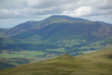 fells: Calfhow Pike and Skiddaw