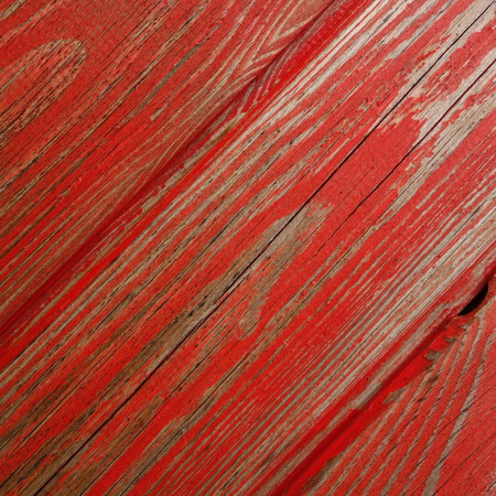 painted wood: Weathered Red Painted Wood