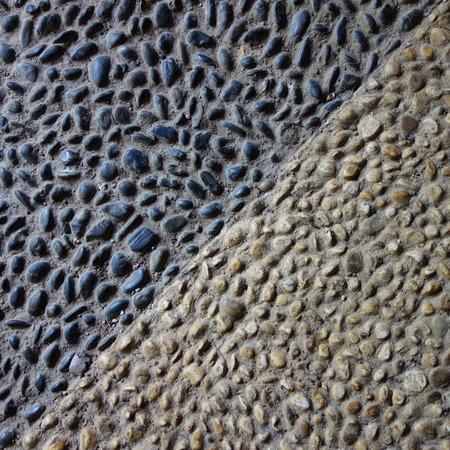 opposites: Light and Dark Cobblestones
