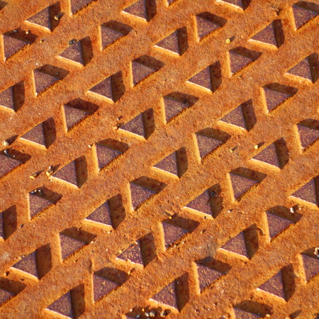 manhole cover: Manhole Cover Pattern Stock Photo
