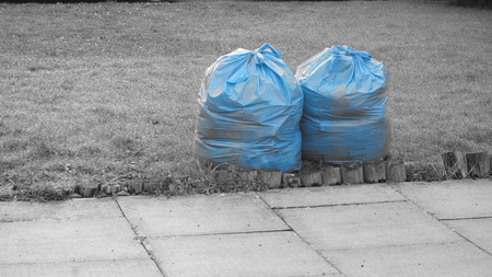 Blue Rubbish Bags
