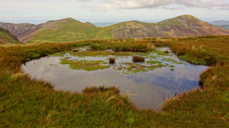 Tarn and Grisedale Pike