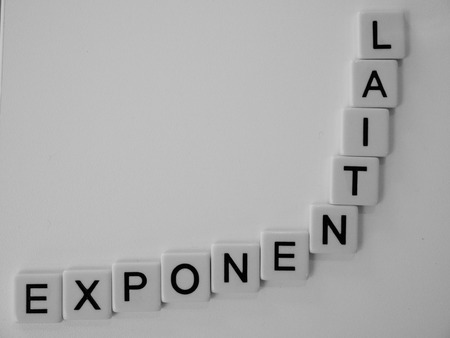 exponential: Exponential Stock Photo
