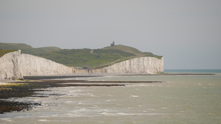 Chalk Cliffs and Belle Tout Lighthouse