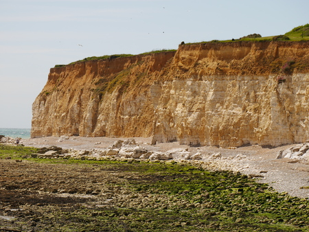 Seaford Head Cliffs Stock Photo