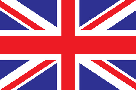 great britain: flag of great britain Illustration