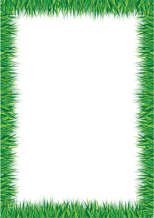 grass border Stock Vector - 7599004