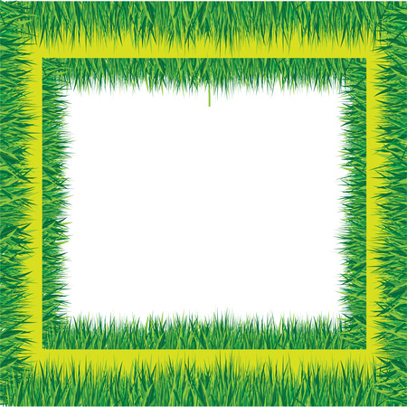 grass border Stock Vector - 7599005