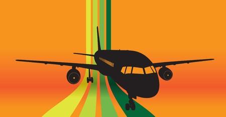 plane Stock Vector - 7641719