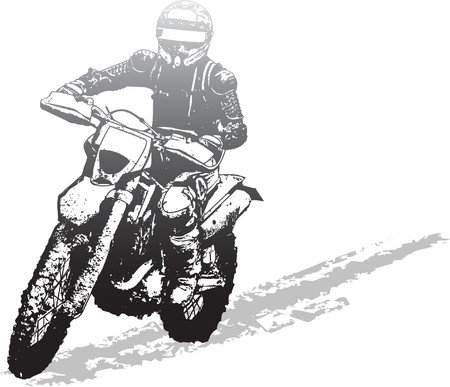 motorbike Stock Vector - 7641723