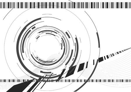 abstracte camera achtergrond Stock Illustratie