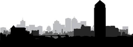 cityscape Stock Vector - 7641538