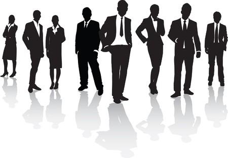 business shirts: gente de negocios