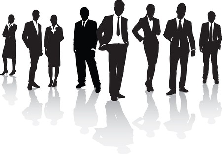 woman business suit: uomini d'affari