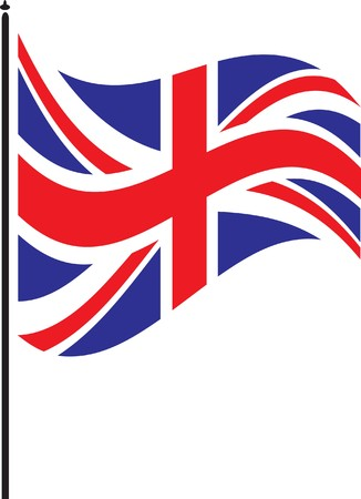 jack: british flag Illustration