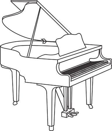 grand piano: Klavier