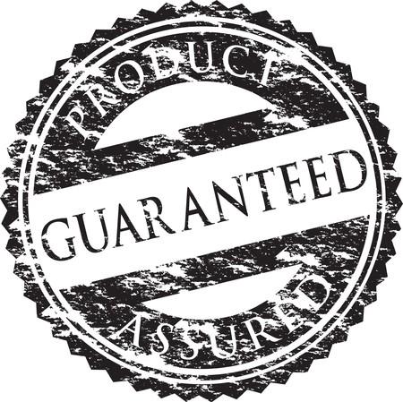 assured: sello de grunge  Vectores