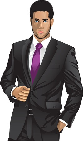 business man Stock Vector - 7712680