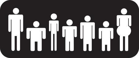 individualism: stick men