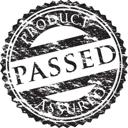 pass: passed stamp