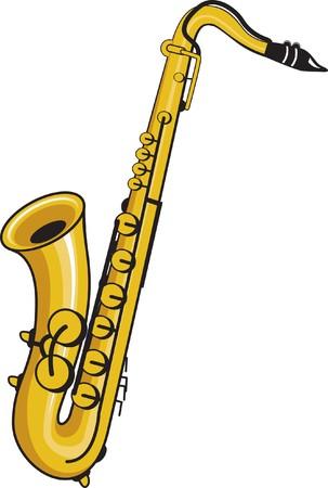 tenor: saxophone Illustration