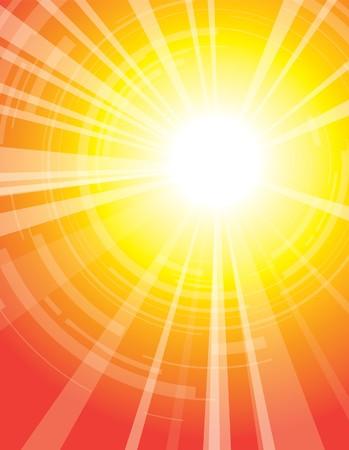 vectorrn: sun Illustration