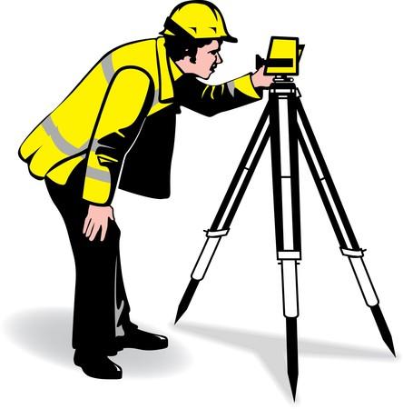 tripod: surveyor
