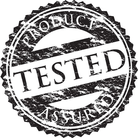approved: tested stamp