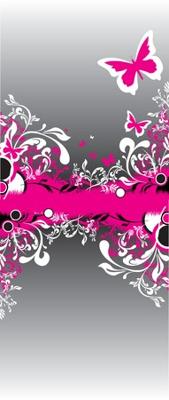 floral banner Stock Vector - 7695312