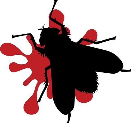 splattered bug Stock Vector - 7742249