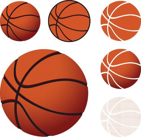 bounce: basketballs