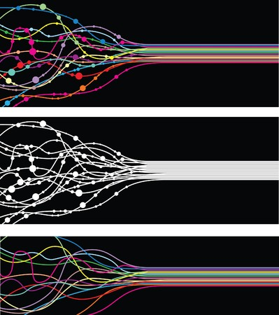 arrière-plan de ligne abstraite