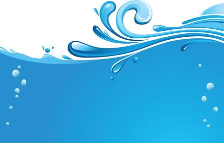 fresh water splash: Wellen L�pp- und Spritzwasser