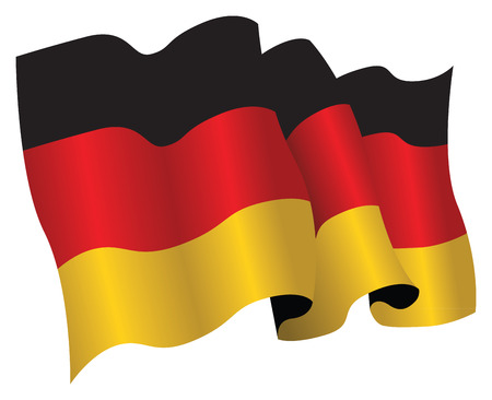 germany flag Stock Vector - 8509333