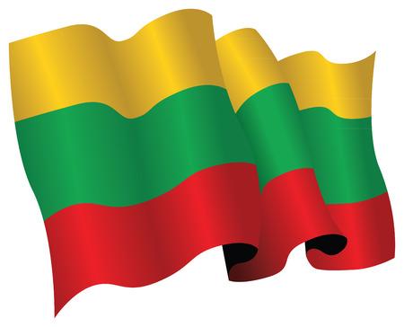 lithuania flag: lithuania flag