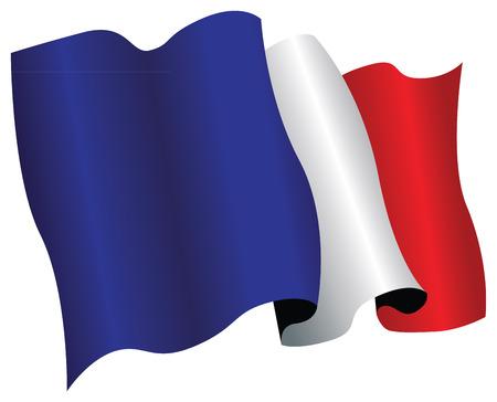 france flag Stock Vector - 8509280