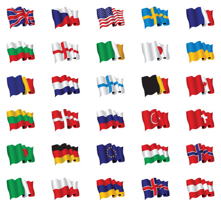 german: flags of the world