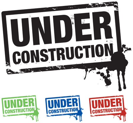 under construction background Stock Vector - 8864111