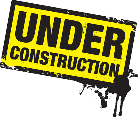 under construction background Stock Vector - 8864115