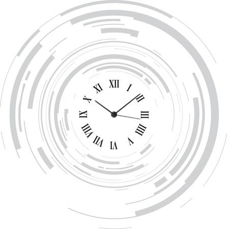 reloj antiguo: reloj abstracto