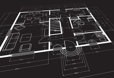 plan maison: contexte architectural