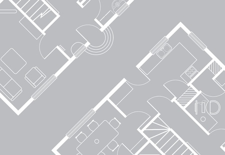 building plan: architectural background