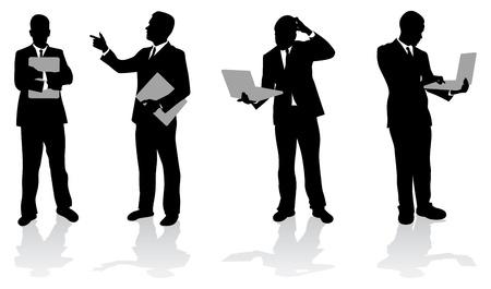 black tie: Fondo de negocio