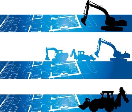 ingegneri: sfondo di costruzione