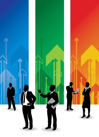 powerpoint: gente de negocios
