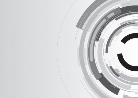 arrière-plan de cercle