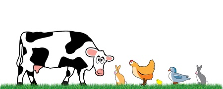 farm animals Stock Vector - 9452192