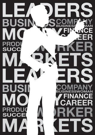 businessman background Vector
